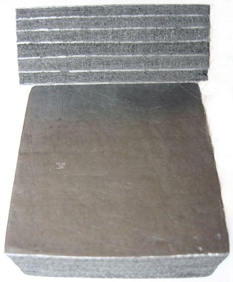 Углеродистая волокнистая фольгированная теплоизоляция